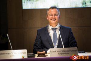 M. van Stappershoef zojuist geïnstalleerd als nieuwe burgemeester